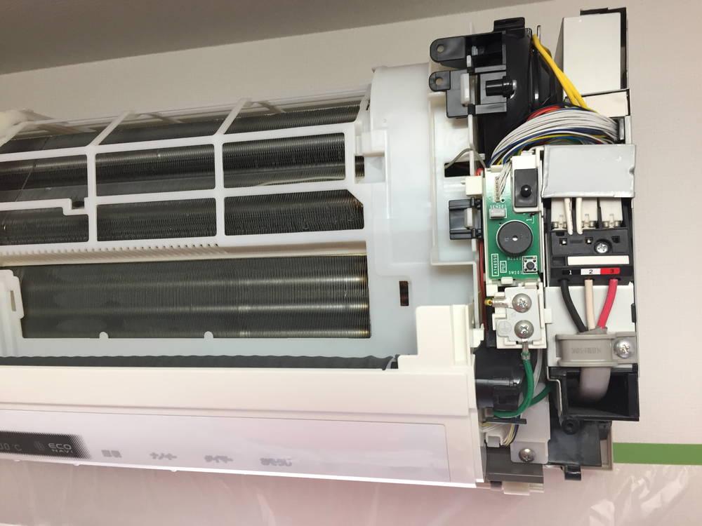 エアコン内部の写真