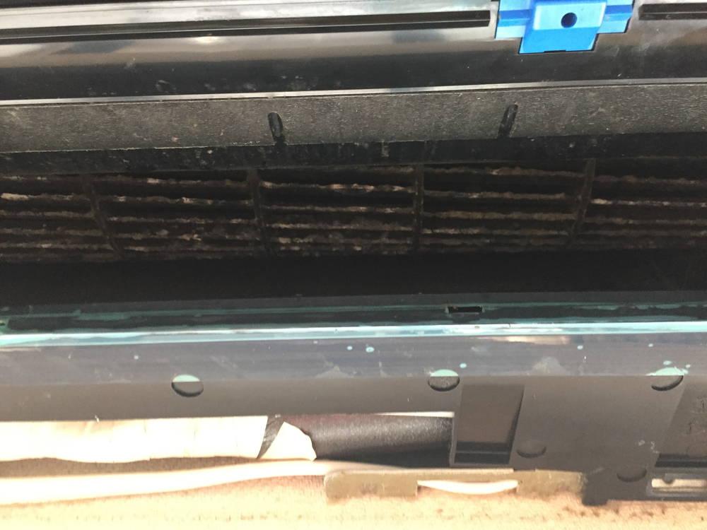 エアコンの内部写真