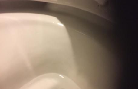 便器洗浄後1