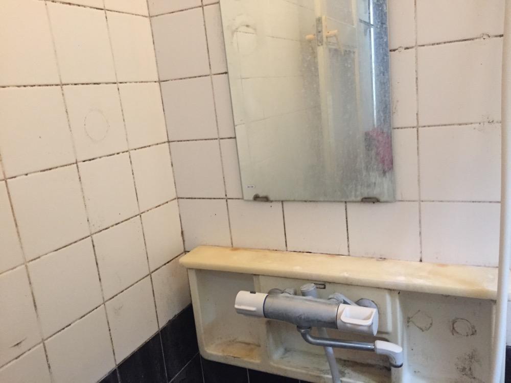 浴室カガミ