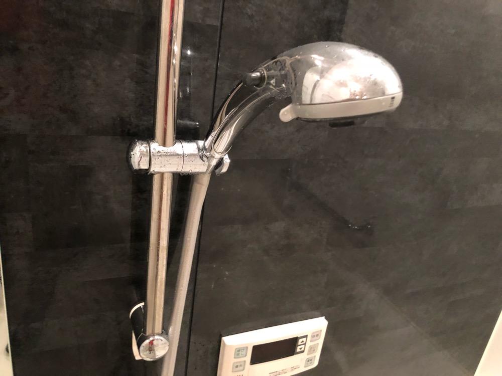 シャワー洗浄後