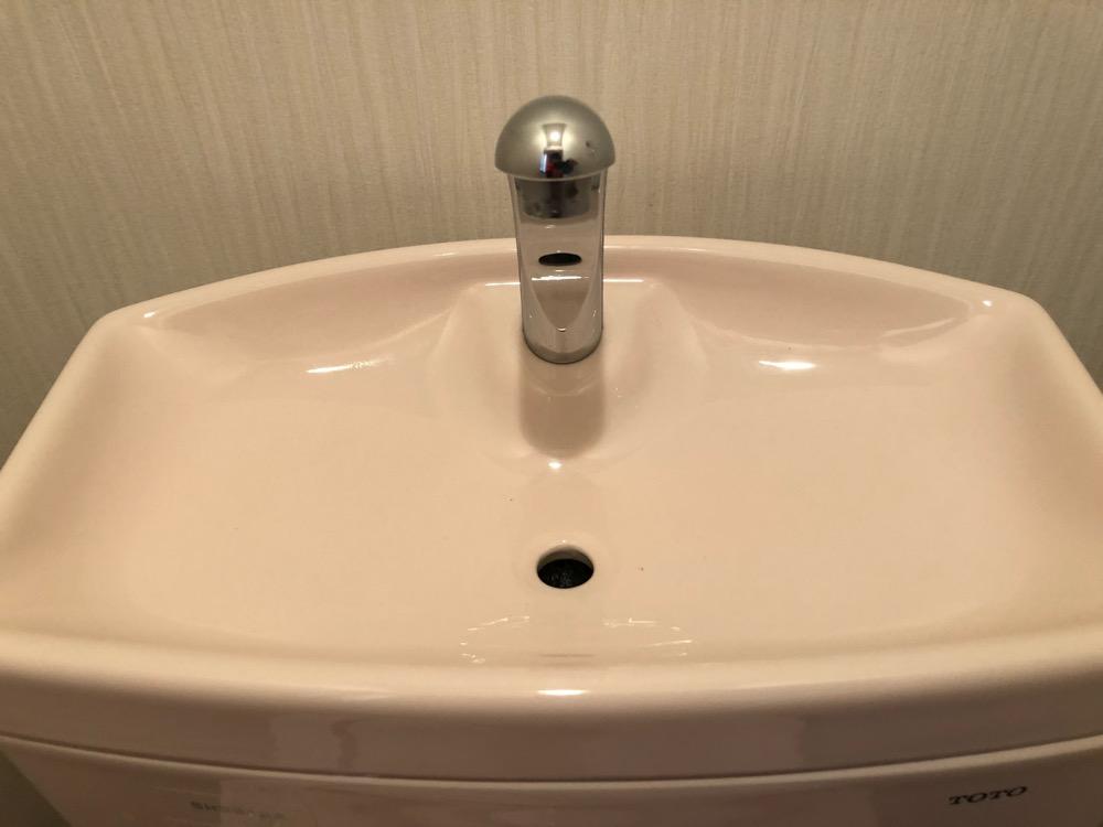 トイレ洗浄後1