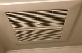乾燥機能付き換気扇洗浄後