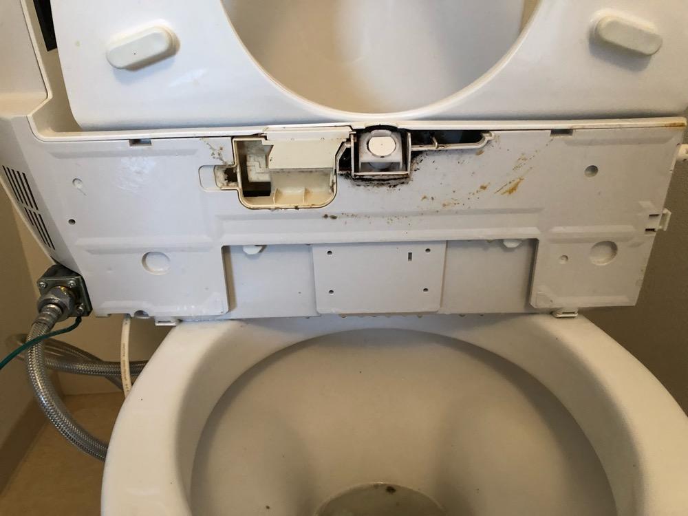 トイレ洗浄前