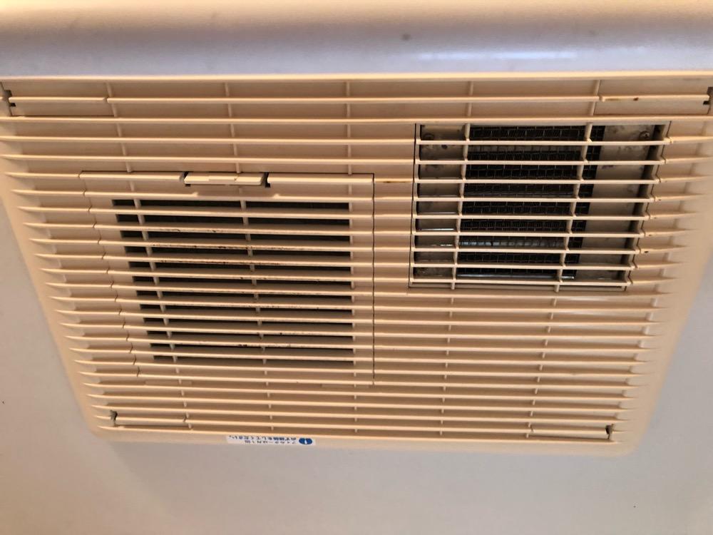 洗浄前乾燥機能付き換気扇